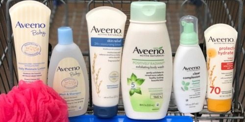 $19 Worth of New Aveeno Coupons = Body Lotion Only $1.97 After Cash Back at Walmart