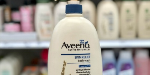 Aveeno Skin Relief Body Wash 33oz Only $5.48 Shipped at Amazon & More