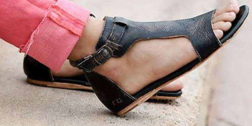 BED|STÜ Women's Leather Sandals Only $49.99 at Zulily (Regularly $135)