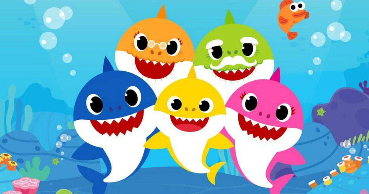Baby Shark show still for Nickelodeon