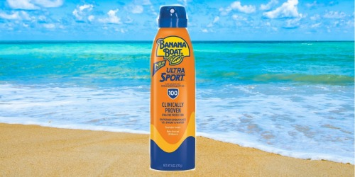 Amazon: Banana Boat Ultra Sport Sunscreen Lotion SPF 100 6oz Bottle Only $4.58 Shipped