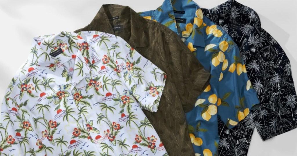 Banana Republic Standard-Fit Camp Shirts