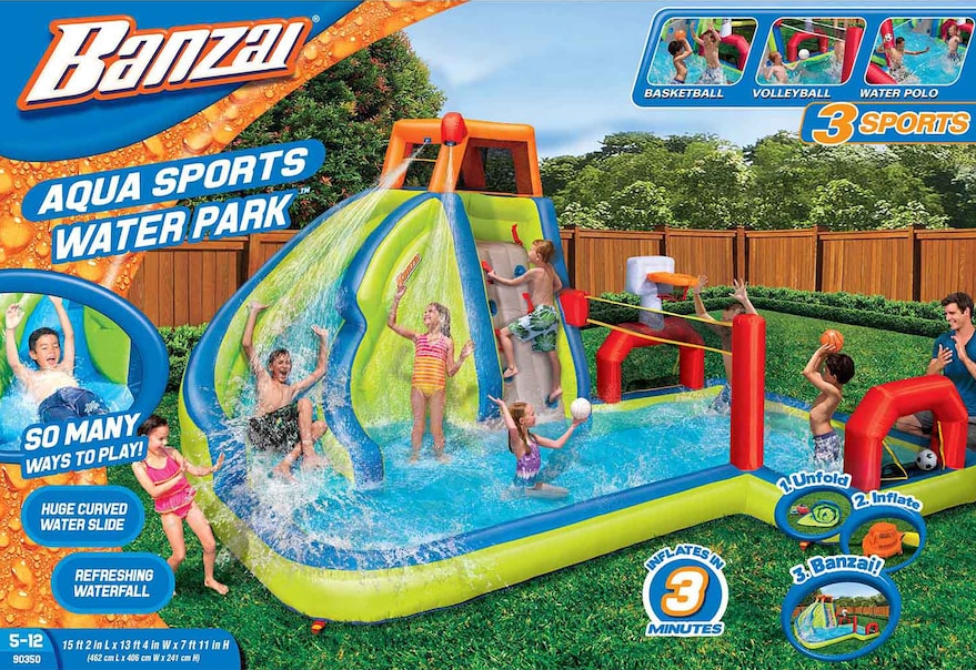 Box featuring Banzai Aqua Sports Water Park