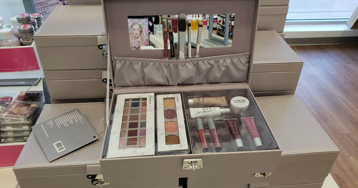 be beautiful color essentials collection on shelf in store