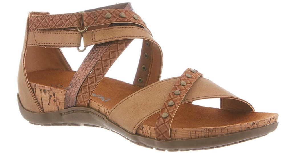 Bearpaw Juliana gladiator-like Sandals with mixed material design