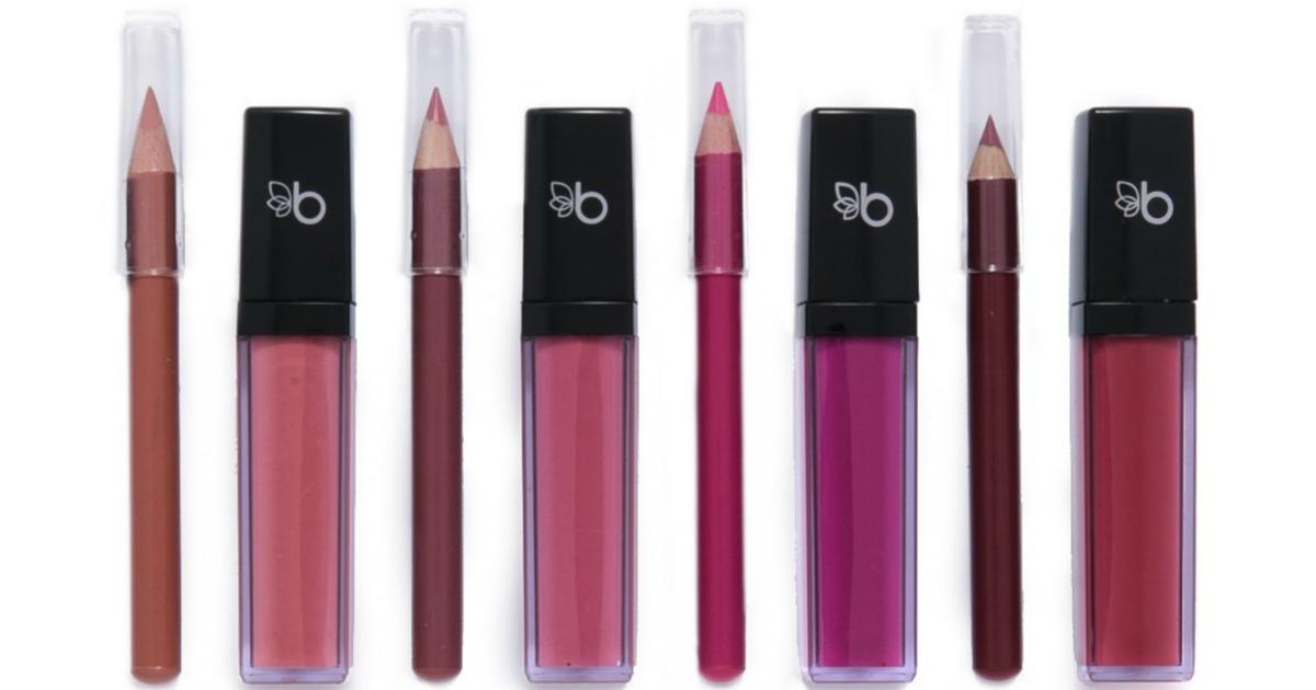 Belk Beauty Liquid Lipstick & Pencil Set