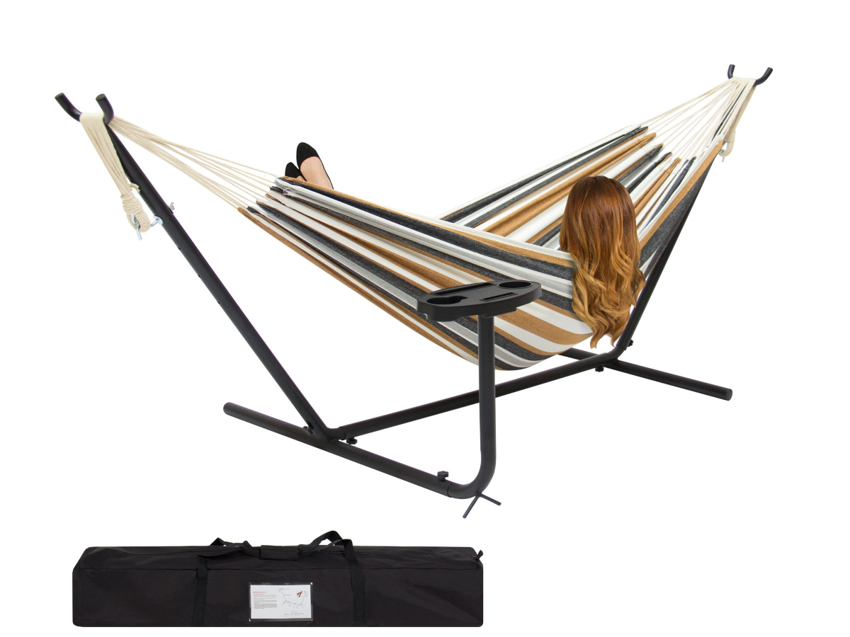 woman laying in Best Choice Double Hammock