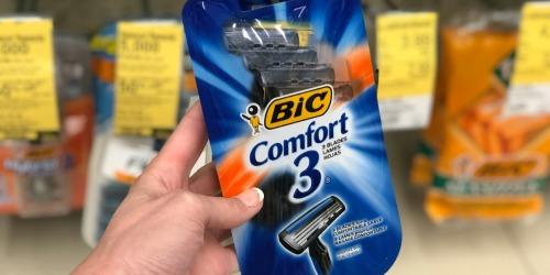 Bic Disposable Razors 4-Count Only 79¢ at Walgreens (Regularly $5) – Just Use Your Phone