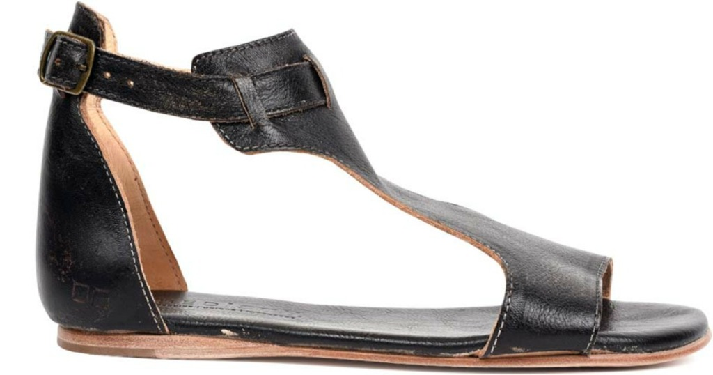 black womens sandal
