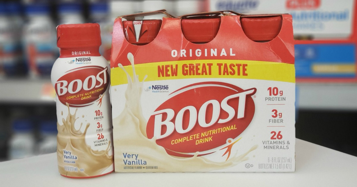 picture regarding Boost Printable Coupons identified as Substantial Relevance $2/1 Increase Dietary Beverages Printable Coupon