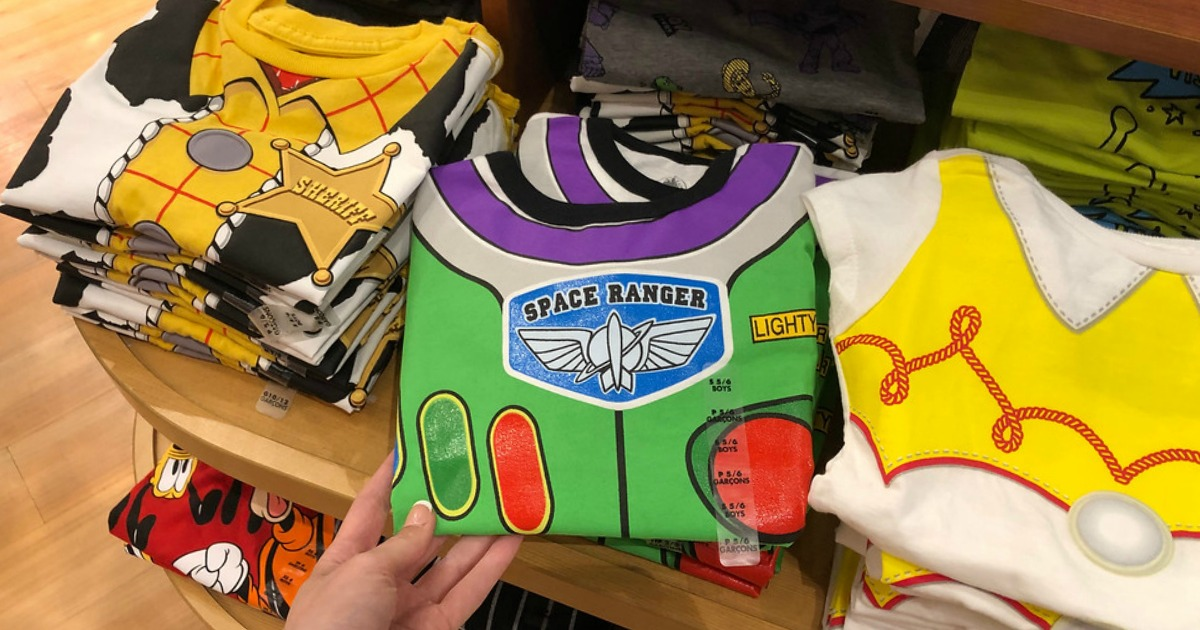 Buzz Lightyear Costume T-Shirt with other Toy Story 4 Tees at shopDisney