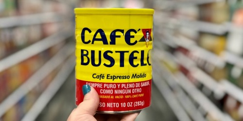 Café Bustelo Espresso Coffee 10oz Can Only $2.50 at Target