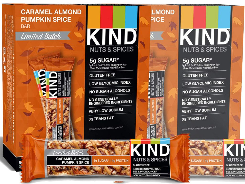 Amazon: KIND Bars 12-Count Packs As Low As $8.76 Shipped