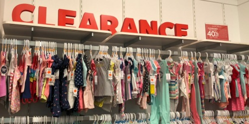 Up to 80% Carter's Baby & Kids Clearance Apparel | Bodysuits, Tees, & More