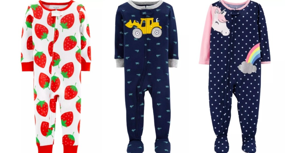 ee447c23c Over 60% Off Carter's Pajamas + Free Shipping - Hip2Save
