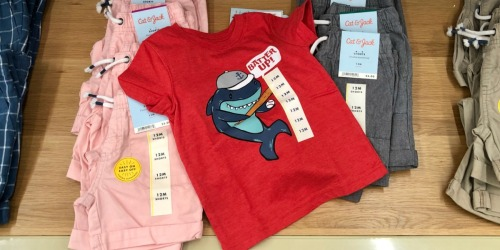 $5 Off $25 Cat & Jack Kids Apparel Purchase at Target (Check Inbox)