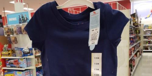 Cat & Jack Kids Tees as Low as $3 at Target (In-Store & Online)