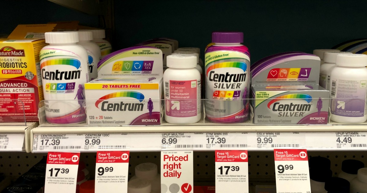 graphic about Centrum Coupon Printable known as Higher Expense $4/1 Centrum Nutrition Coupon \u003d 65% Cost savings Immediately after