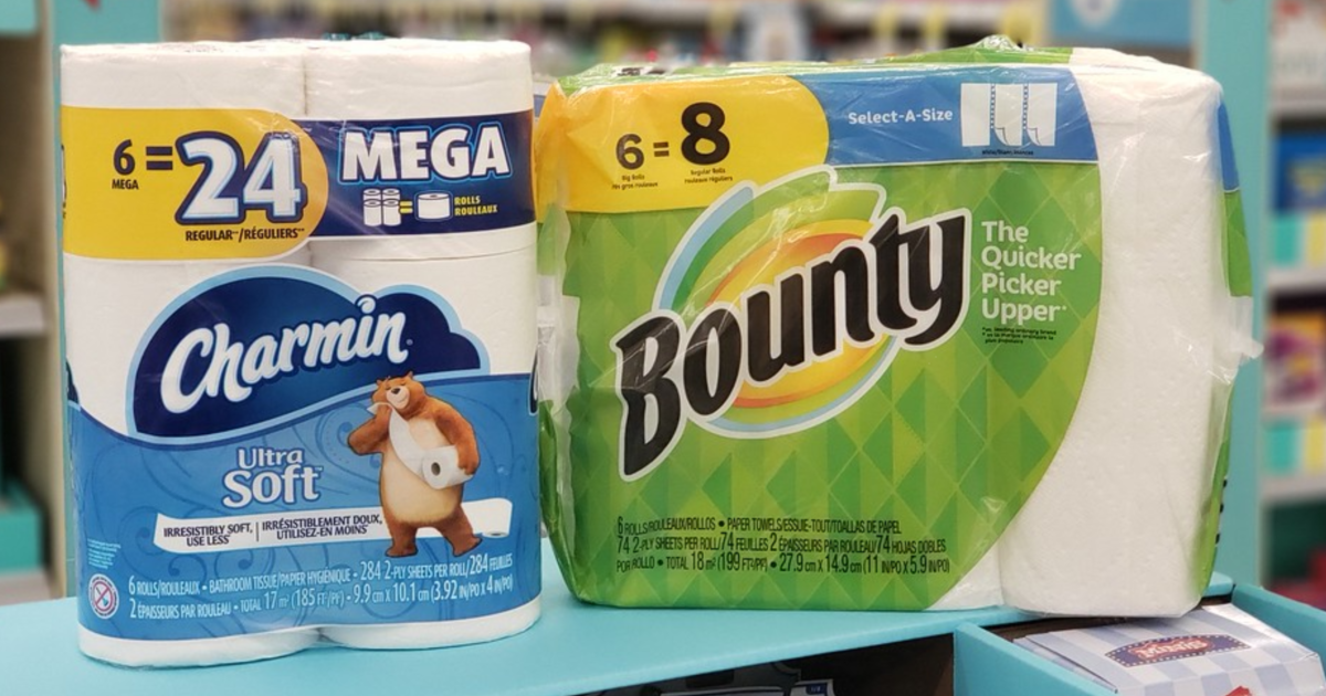 Walgreens Save 12 On Bounty Amp Charmin With This Sale