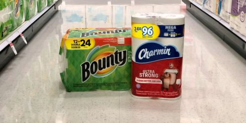 Charmin Mega Rolls 24ct Toilet Paper Only $15 Each After Target Gift Card + More