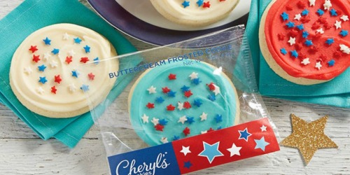 Cheryl's Cookies Red, White & Blue Cookie Sampler AND $10 Reward Card Only $9.99 Shipped