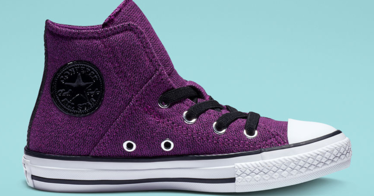 Chuck Taylor All Star Pull-Zip Canvas High Top