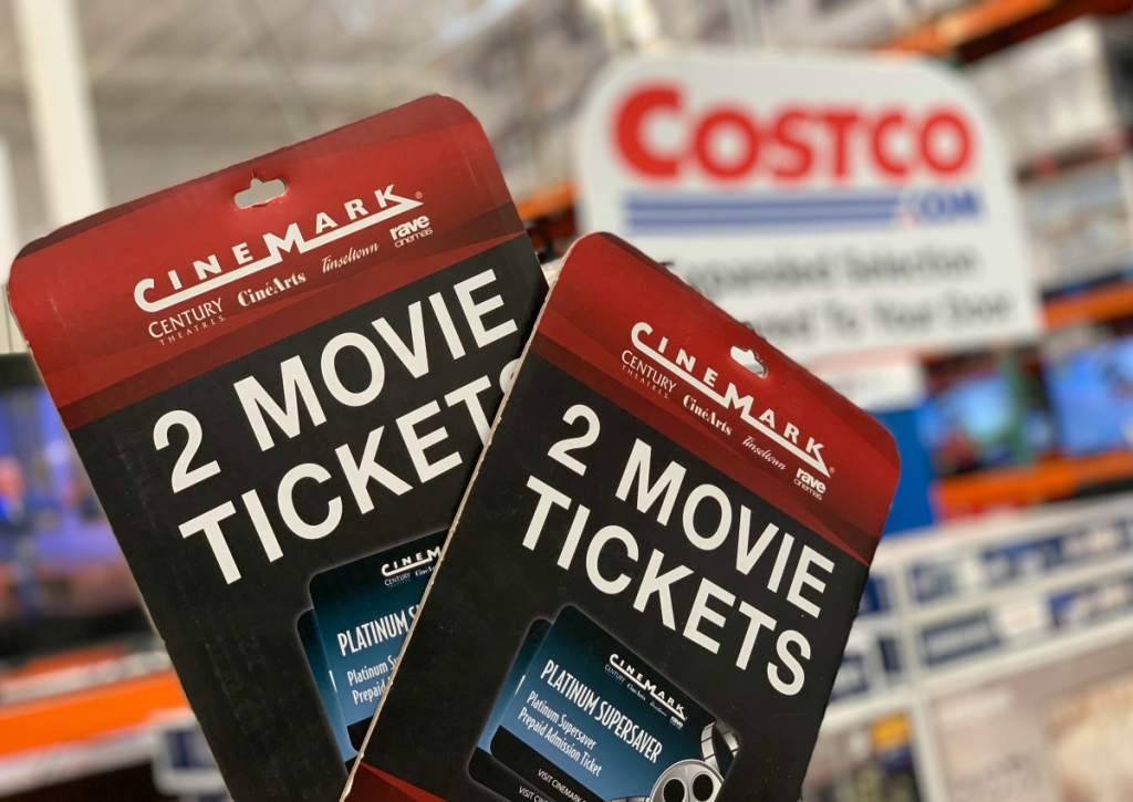 Cinemark movie tickets at Costco