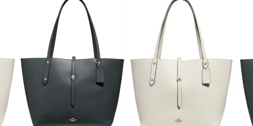 Coach Polished Pebble Leather Tote Only $117.93 Shipped (Regularly $295)