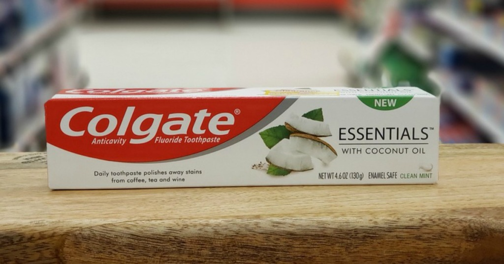 Colgate Essentials with Coconut Oil Toothpaste