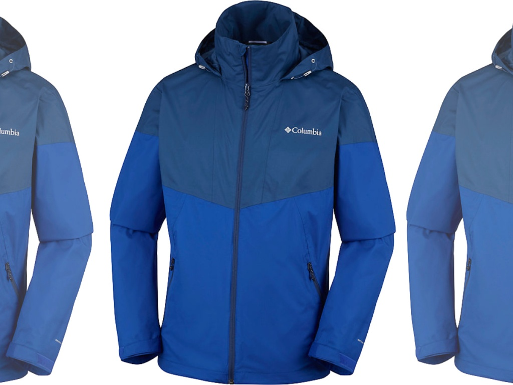 blue columbia Men's Inner Limits Jacket