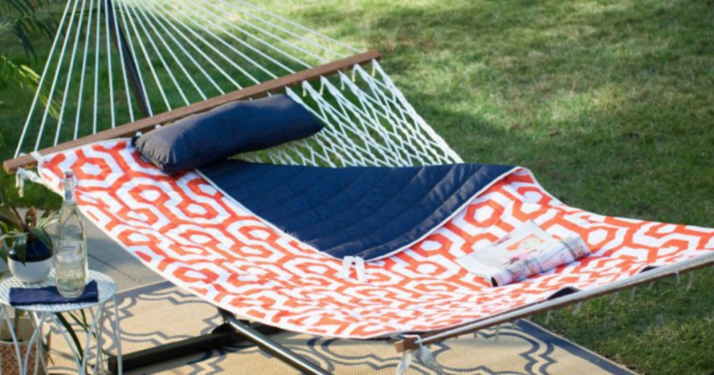 e5d6f6f7dea Double Hammock Set w/ Stand Only $86 Shipped (Regularly $125)