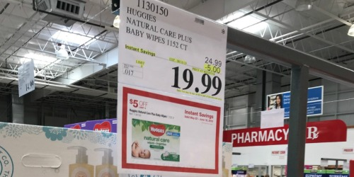 Cheap Huggies Wipes at Costco