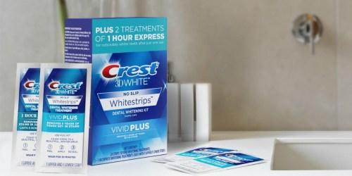 Crest 3D White Whitestrips Vivid Plus 12-Treatments Only $18.58 Shipped at Amazon