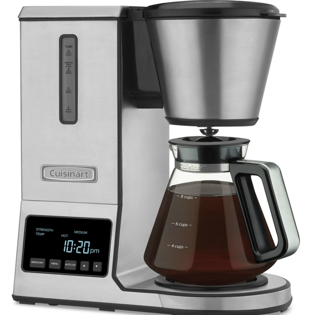 Cuisinart coffee brewer with glass carafe