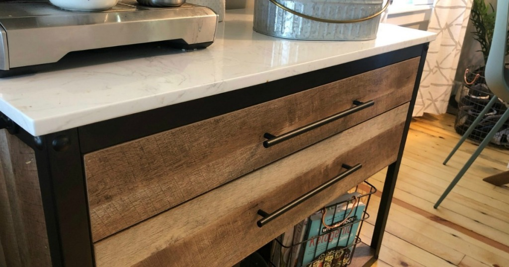 Derry Stone Top Kitchen Island Only $175.50 Shipped ...