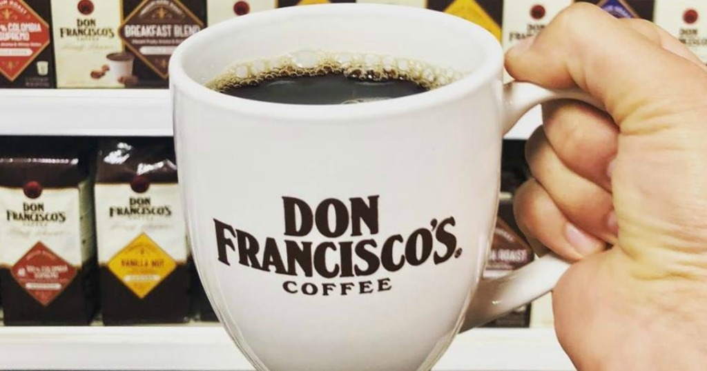 Don Francisco's Coffee cup