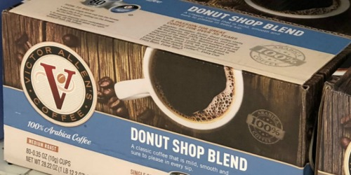 Amazon Prime | Victor Allen's Donut Shop Blend 80-Count K-Cups Only $14.32 Shipped – Just 17¢ Each