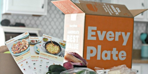 EveryPlate Meal Subscription Only $3.33 Per Meal