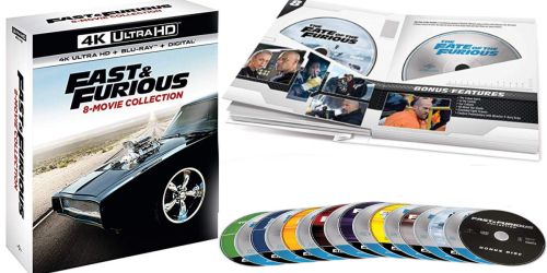 Fast & Furious 8-Movie Collection Only $47.99 Shipped (Regularly $100) + More