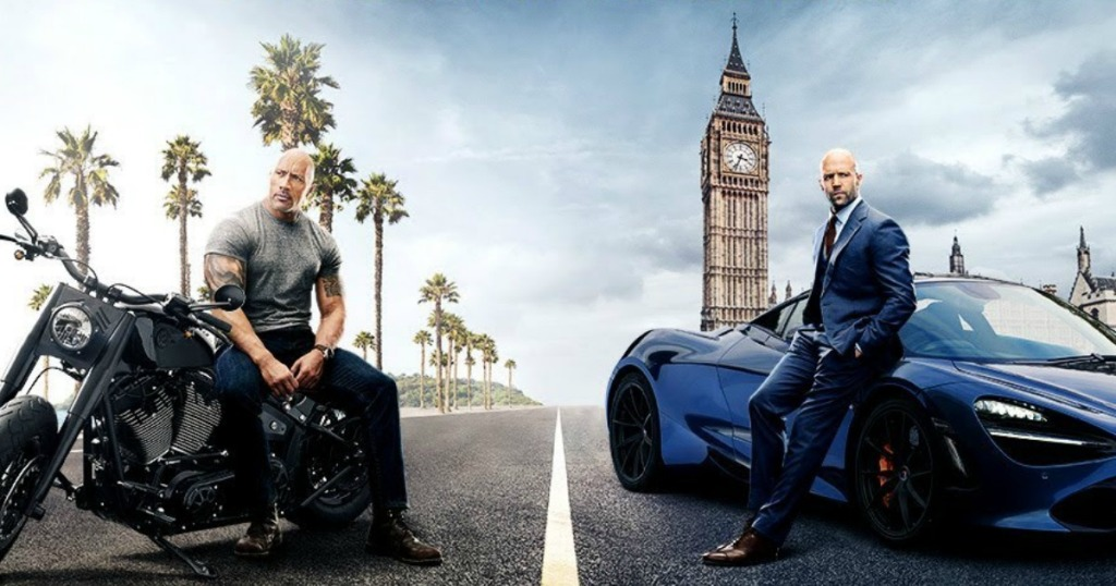 Fast and Furious: Hobbs and Shaw Movie poster