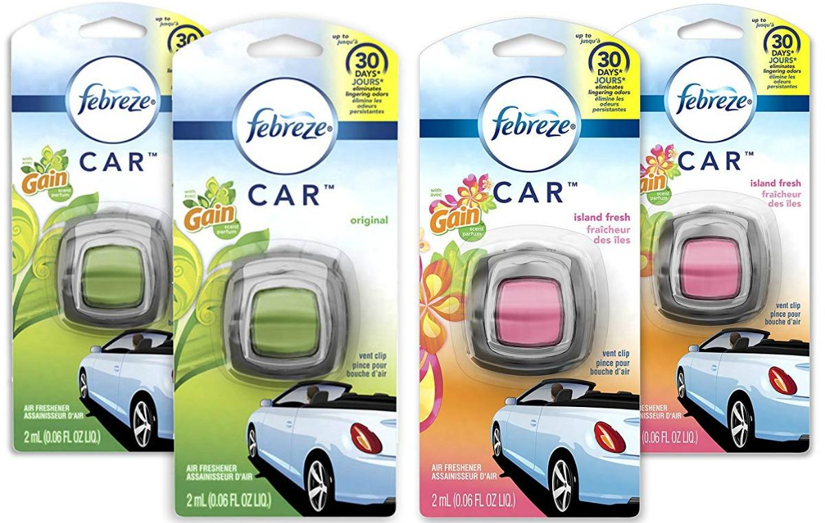 febreze air freshener in gain scents