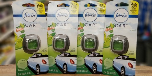 Febreze Car Air Fresheners 4-Pack Only $7.73 Shipped (Just $1.93 Each)