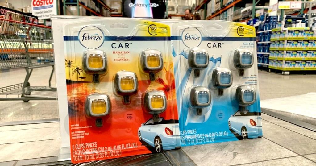 Febreze Car Vent Clip 5-pack at Costco