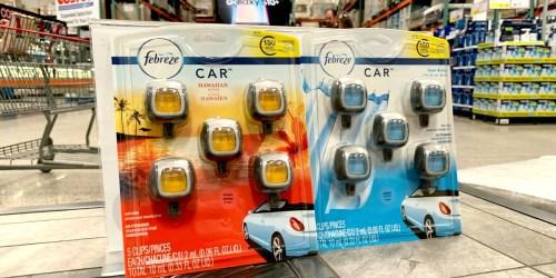 Febreze Car Vent Clips 5-Pack Only $6.99 at Costco (Just $1.40 Per Clip)