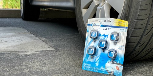 Instantly Save $2 on Febreze Air Freshener Car Vent Clips at Costco (Gets Rid of Odors for Good)