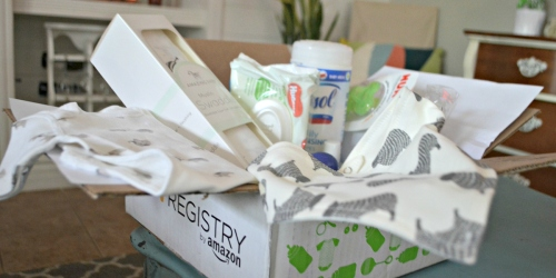 Create an Amazon Baby Registry and Get a FREE Welcome Box ($35 Value)