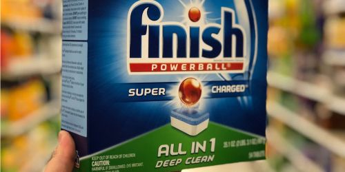 Finish Powerball Dishwasher Tablets 94-Count Only $10 Shipped on Amazon