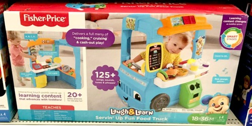 Fisher-Price Laugh & Learn Servin' Up Fun Food Truck Only $48.99 Shipped