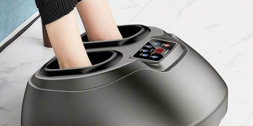 Foot Massager w/ Heat Only $75.99 Shipped at Amazon