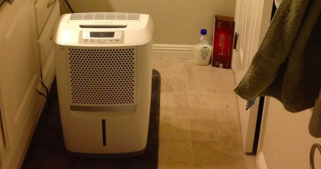Frigidaire Humidifier in a bathroom